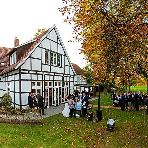 Hochzeit feiern Alte Herrlichkeit