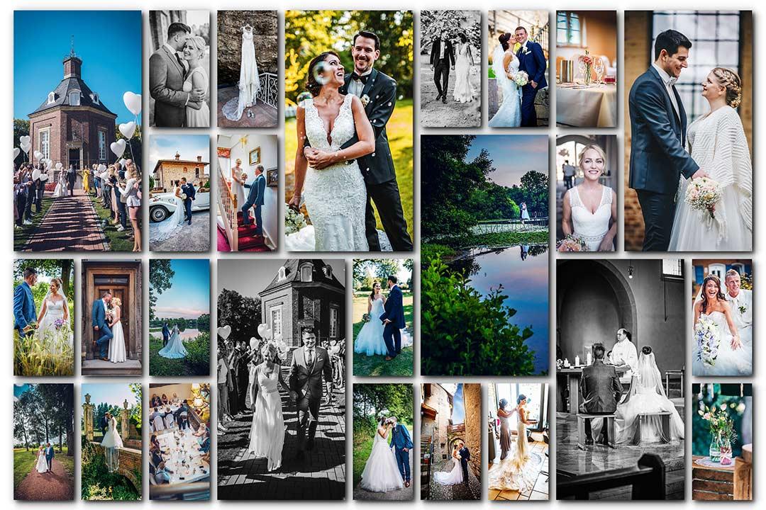 Hochzeitsfotograf Gelsenkirchen - Hochzeitsreportage Gelsenkirchen Schloss Berge